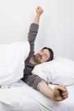 Temps de sommeil - bon se réveiller Image libre de droits