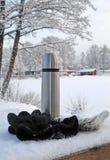 Temps de Suédois de l'hiver Photographie stock libre de droits