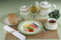 Temps de thé Photographie stock