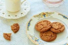 Temps de thé de Gingersnap Photo stock