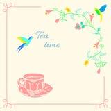 Temps de thé Photos stock