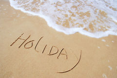 Temps de vacances Image libre de droits