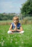 Temps de yoga Photographie stock libre de droits