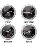 Temps du monde Photographie stock libre de droits