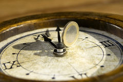 Temps et économie Photographie stock