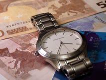 Temps et argent Image stock