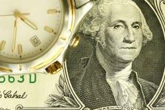 Temps et argent Photo libre de droits