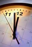 Temps et calendrier Image libre de droits