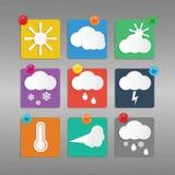 Temps et climat Photos stock