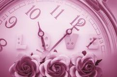 temps et concept d'amour Photographie stock