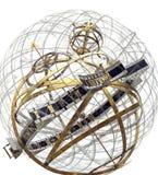 Temps et espace Image libre de droits