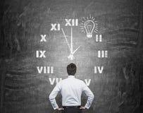 Temps et idée Images stock