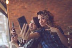 Temps fou de selfie Photographie stock libre de droits