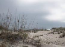 Temps Front Looming au-dessus de la plage II Images libres de droits
