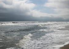 Temps Front Looming au-dessus de la plage III Photographie stock