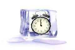 Temps gelé Photo stock