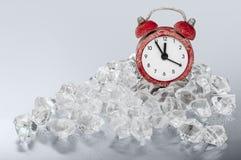 Temps gelé Photo libre de droits