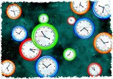 Temps grunge Photographie stock libre de droits