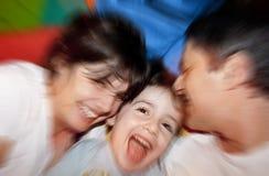 Temps heureux Photo libre de droits