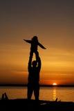 temps heureux Photographie stock libre de droits