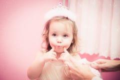 Temps heureux de bébé Images stock