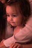 Temps heureux de bébé Image libre de droits