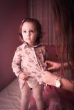 Temps heureux de bébé Photographie stock