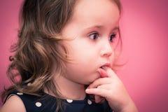 Temps heureux de bébé Photo libre de droits