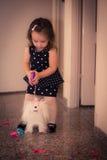 Temps heureux de bébé Photographie stock libre de droits