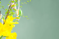 Temps heureux de Pâques, Pâques Photo libre de droits