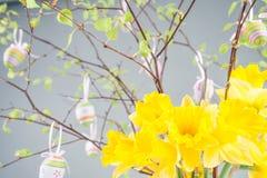 Temps heureux de Pâques, Pâques Image libre de droits