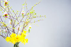 Temps heureux de Pâques, Pâques Images stock