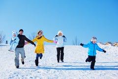 Temps libre de l'hiver Photos libres de droits