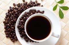 Temps merveilleux de café Images libres de droits