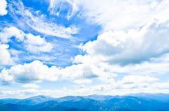 Temps nuageux Image libre de droits