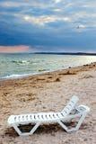 Temps orageux en mer Photos libres de droits