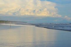 Temps paisible à l'EL Espino de Playa Images libres de droits