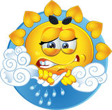 Temps pluvieux illustration stock