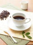 Temps Relaxed de café Image libre de droits