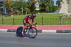 Temps Rider From Team d'essai BMC Images stock