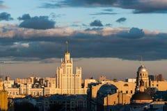 Temps russe, Moscou, avril 2017 Image libre de droits