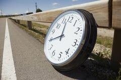 Temps sur la route Image stock