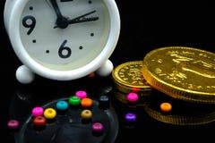 Temps - un argent Photographie stock libre de droits