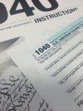 Temps VI d'impôts image stock