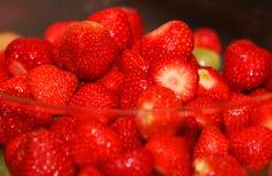 Temptating Erdbeeren Lizenzfreies Stockbild