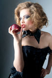 Temptation apple Stock Photos