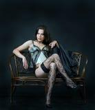 Temptation silk Royalty Free Stock Photography