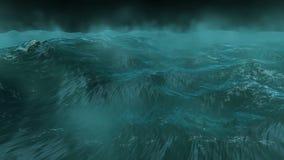 Tempête d'océan banque de vidéos