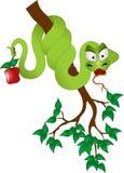 Tempter da serpente ilustração royalty free
