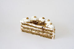Tempting Cake. A closeup view of a piece of tempting cake Stock Photo
